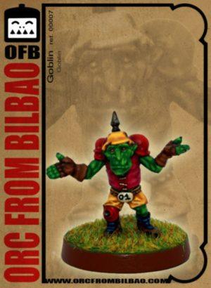 Orc From Bilbao Fantasy Football Goblin