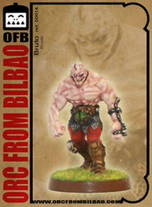 Orc From Bilbao Fantasy Football Brute