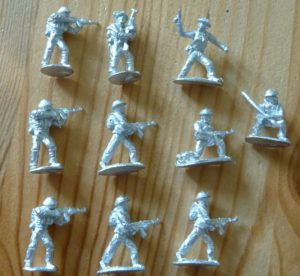 RAFM Miniatures North Vietnamese Army Rifle Squad