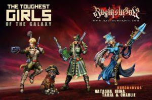 Raging Heroes The Kurganova Shock Troops Character Box 1