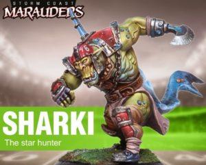 Big Child Sharki Ork The Star Hunter Black Sailors Team