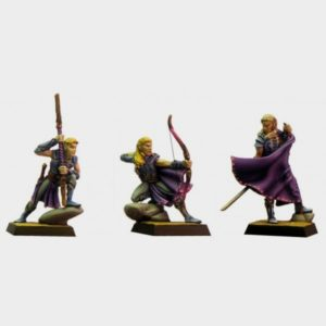 Fenryll 3 Stages Of The Elf x 3 Figures