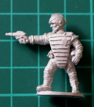 Denizen Miniatures 25mm Space Cop with Pistol