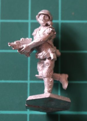 Denizen Miniatures 25mm Trooper Running with ACR (Adaptive Combat Rifle)