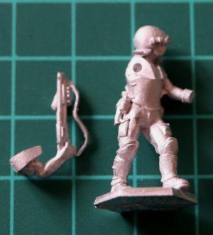 Denizen Miniatures 25mm Trooper with Shotgun