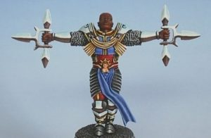 Sacred Blade Miniatures Maran Luxat Cyber Paladin