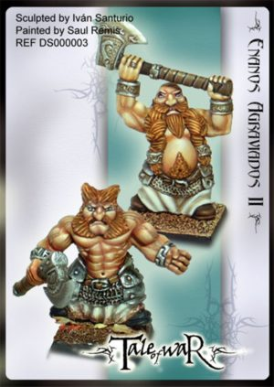 Tale Of War Miniatures Angry Dwarves II