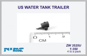 Niko Model 1:350 US Water Tank Trailer (4 to a pack)