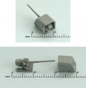 Niko Model 1:400 15cm Tbts KC/36 Gun (4 to a pack)