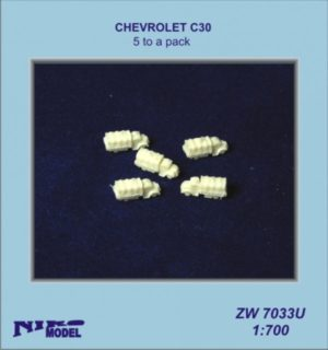 Niko Model 1:700 Chevrolet C30 (5 to a pack)