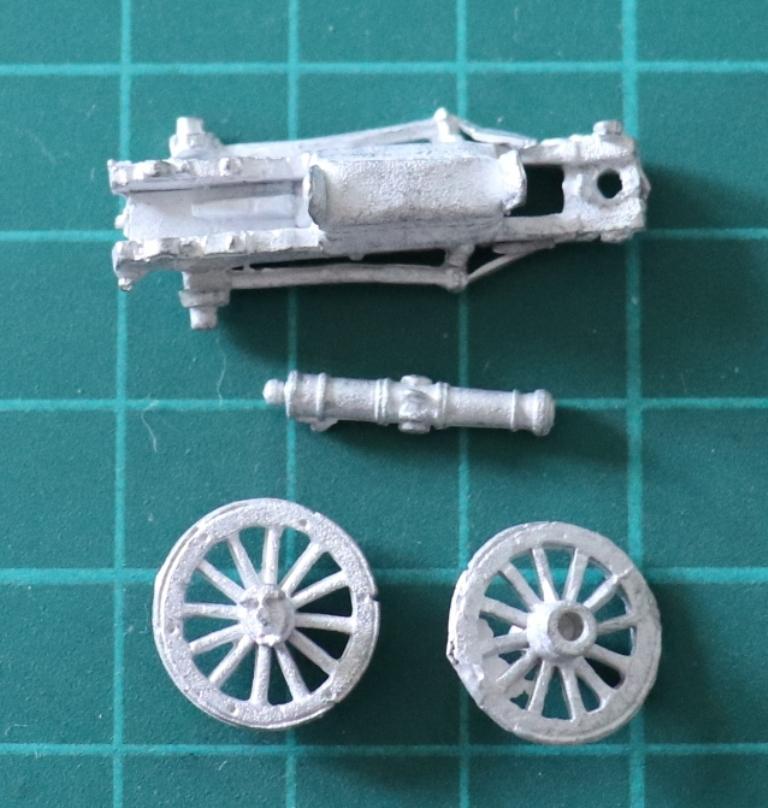 AB Figures 18mm Austrian 6pdr Kavalleriegeschutz Gun