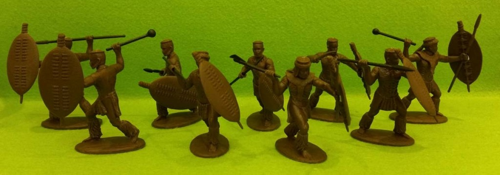 Expeditionary Force Colonial Wars The Zulu Army Zulu in War Dress Married