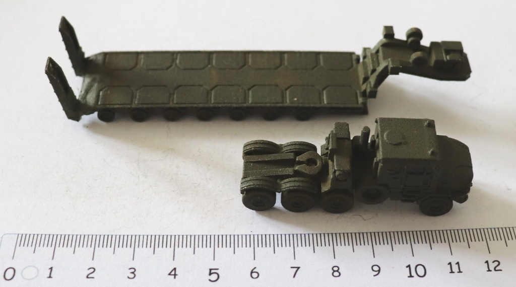 M1070 Truck Tractor with Tank Transporter #2